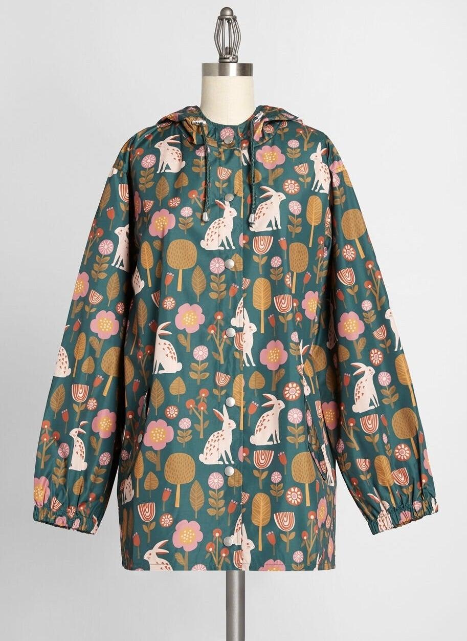 ModCloth x Princess Highway Bunny Raincoat