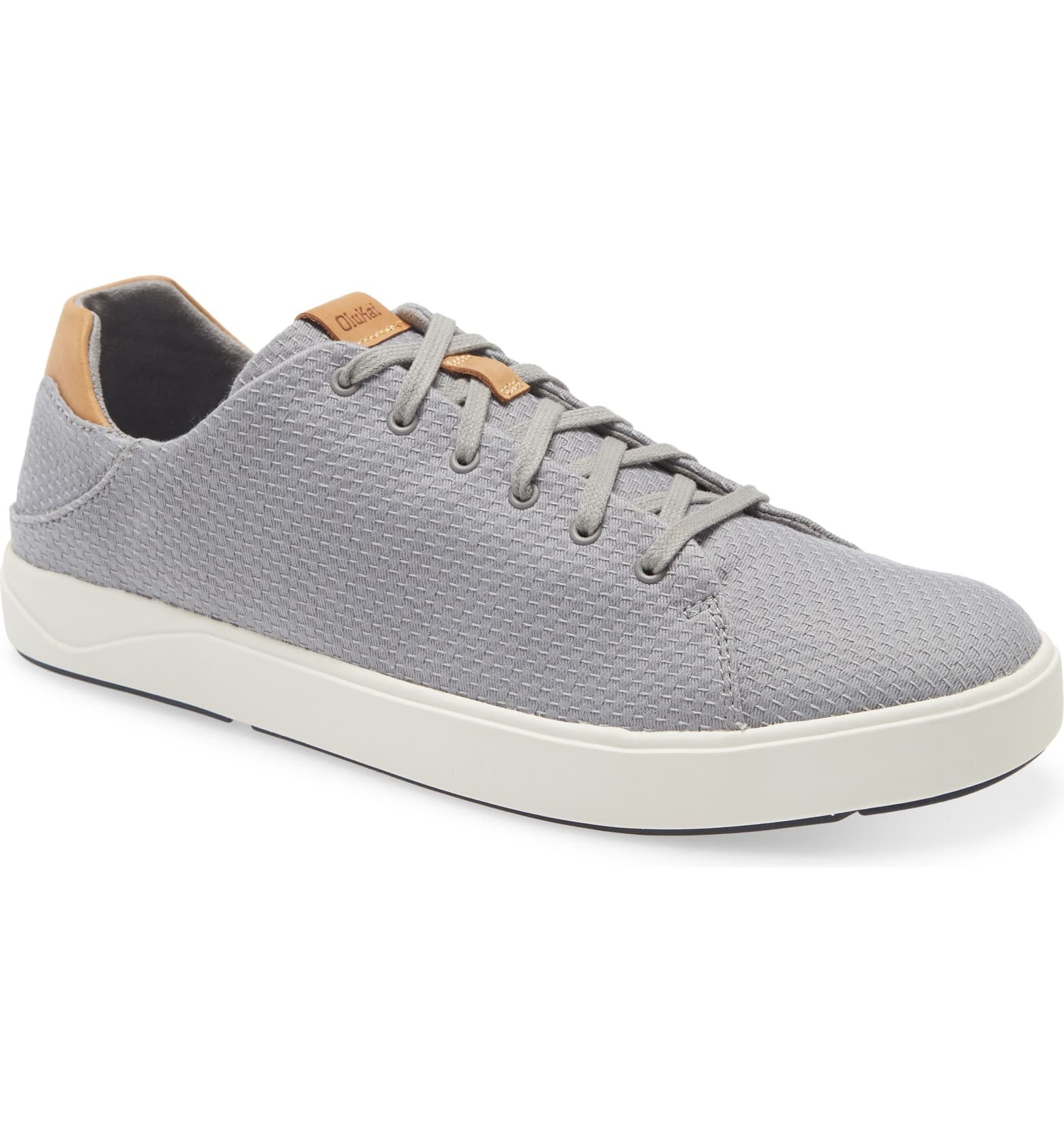 Olukai Lae'Ahi Li low top mesh sneakers in grey
