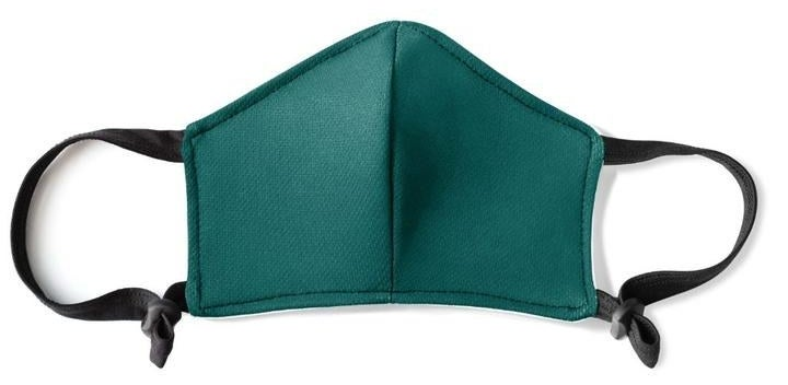 The emerald mask with black handles