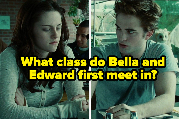 "This Is The Hardest ""Twilight"" Trivia Quiz You Will Ever Take In Your Life"