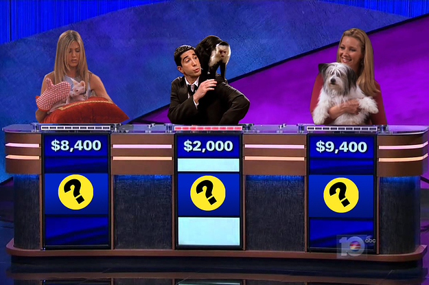 """You Might Be Obsessed With """"Friends"""" If You Can Pass This """"Jeopardy!"""" Trivia Quiz About The Animals In The Show"""