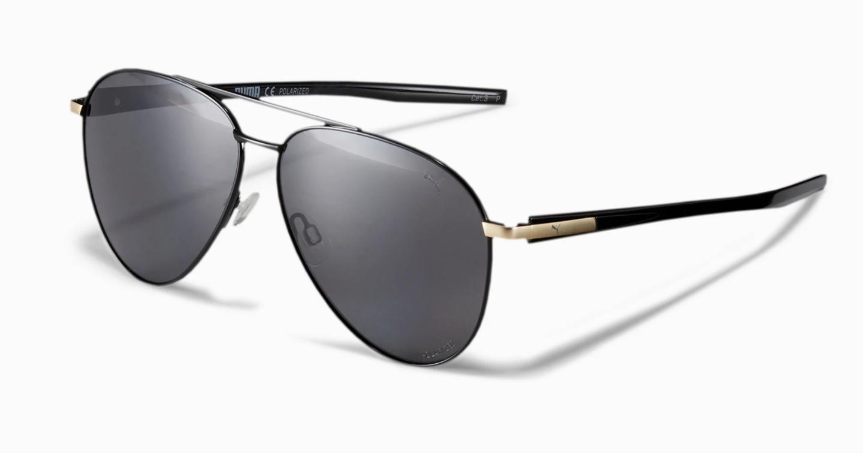 The sunglasses in black