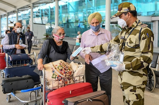 When India's Airports Reopen On Monday, They'll Be Pushing Travelers To Use The Government's Controversial Contact Tracing App