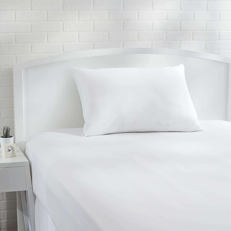 funda blanca hipoalerg?nica para almohadas