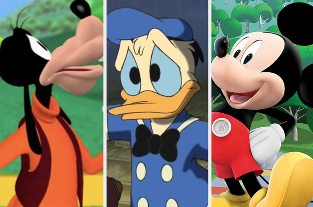 Let's See If You're More Like Mickey Mouse, Goofy, Or Donald Duck