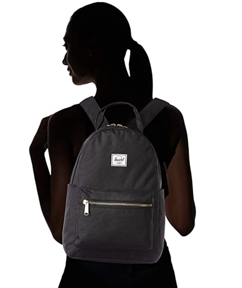 mochila negra Herschel