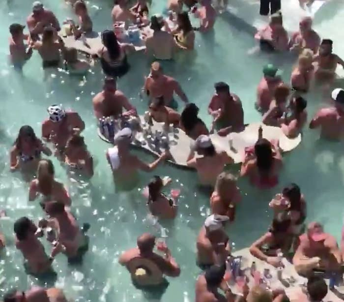 A Lake Of The Ozarks Memorial Day Pool Party Has Gone