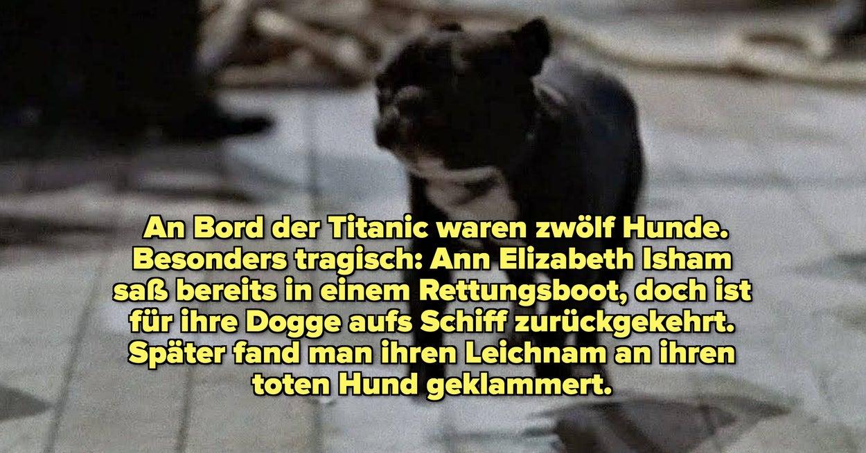 18 spannende Fakten über die Titanic-Tragödie, die genauso unter die Haut gehen wie der Film