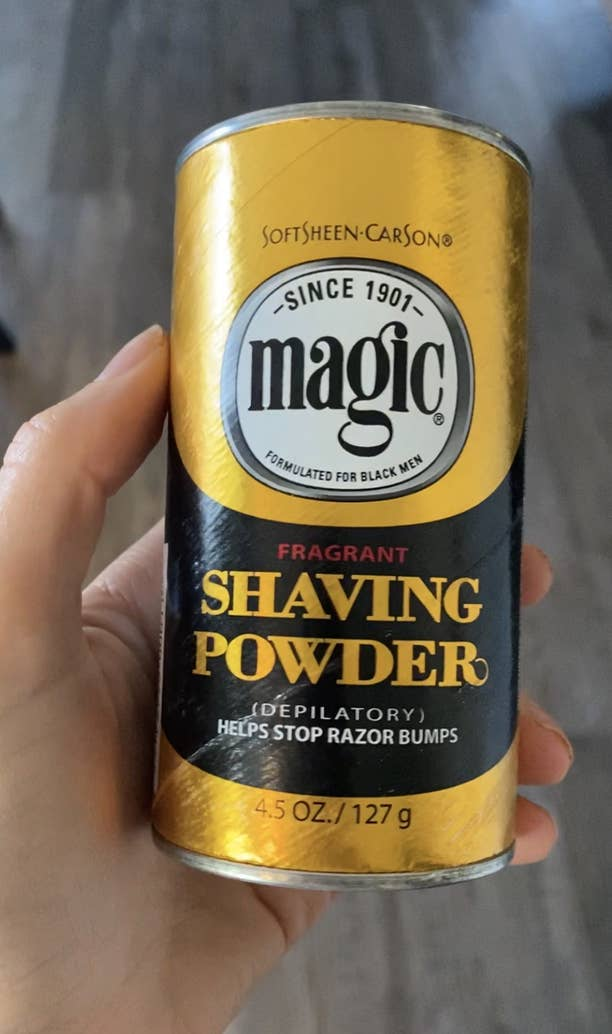 Magic Shave Hair Removing Powder On Tiktok