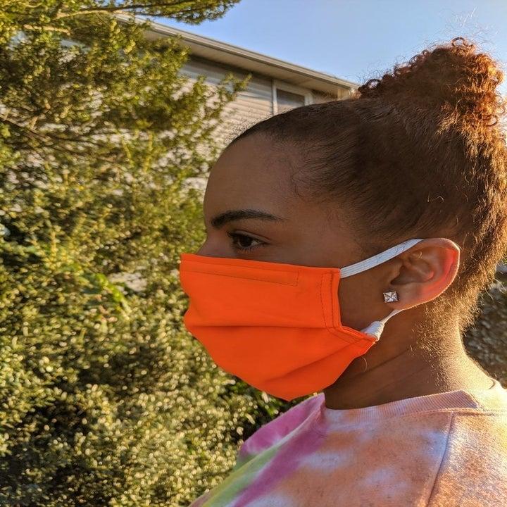 seersucker face mask etsy