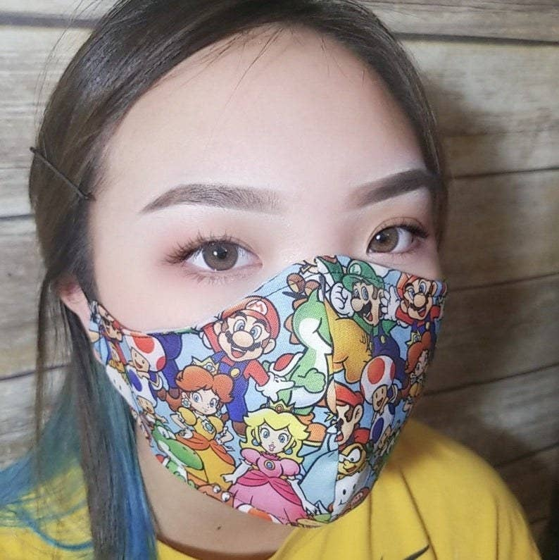 26 Of The Best Face Masks With Filter Pockets On Etsy Right Now