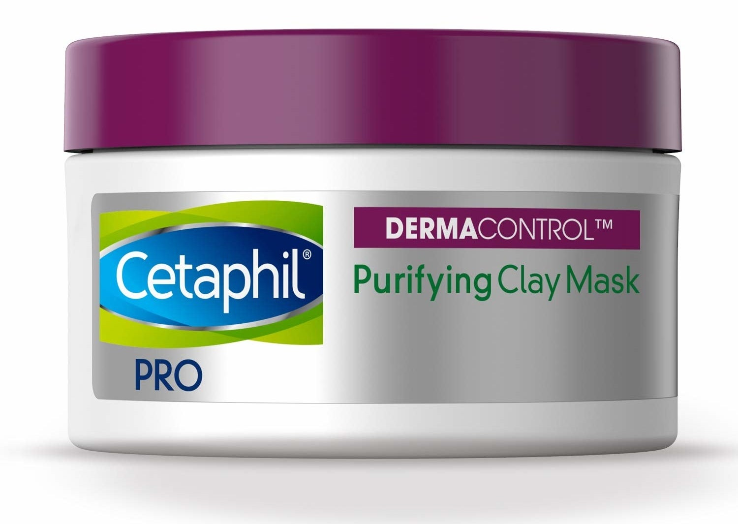A jar of Cetaphil Pro Dermacontrol Purifying Clay Mask.