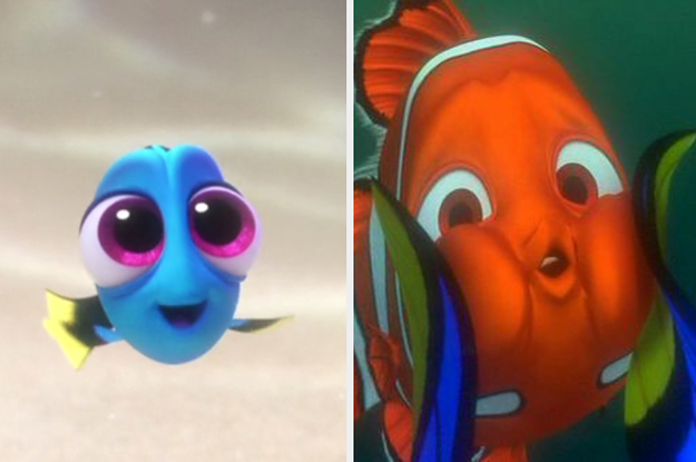"Can You Correctly Identify Which Screenshots Are From ""Finding Nemo"" Vs. ""Finding Dory""?"
