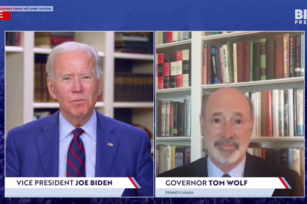 There Was A Pretty Loud Fart Noise During A Joe Biden Livestream