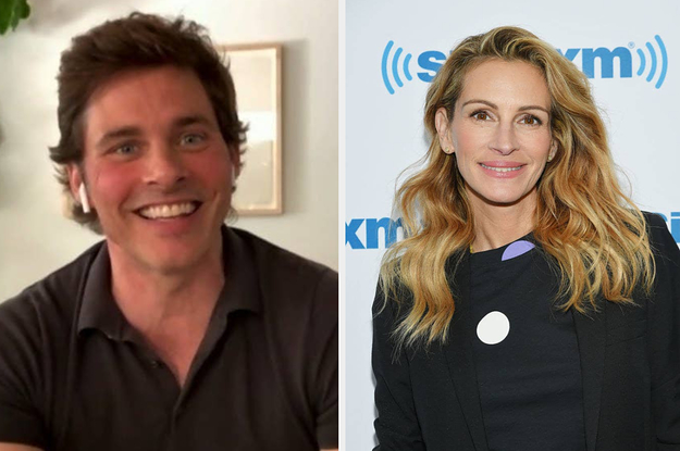 """Julia Roberts Helped James Marsden Land His Role In """"Hairspray"""" In The Sweetest Way"""