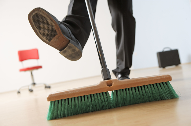 They Agreed To A Stranger's Sexual Fantasy Involving A Broom. But They Had The Wrong House.