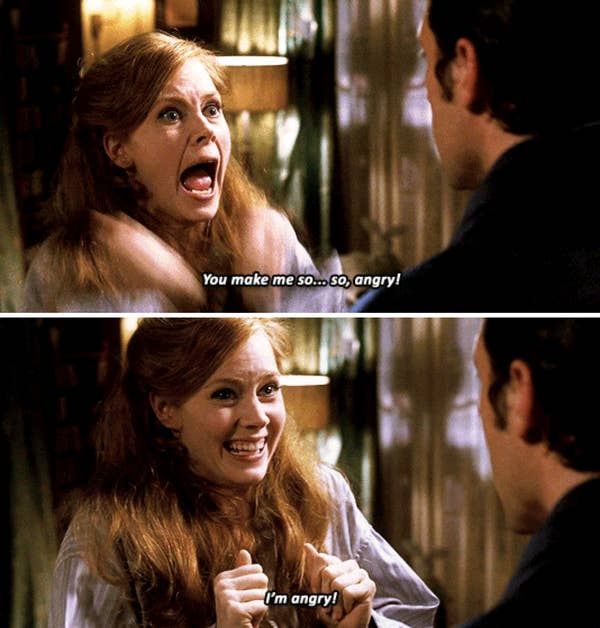 """Amy Adams' character getting excited in the apartment in """"Enchanted"""""""