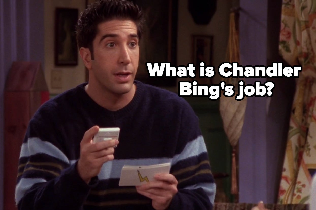 Thirteen Questions Stand Between You And Living In Monica's Apartment
