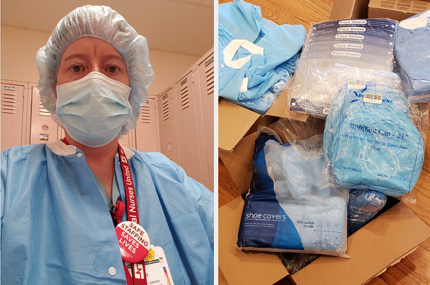 This Nurse Treating COVID-19 Patients Spent At Least $500 On Protective Gear Because Her Hospital Kept Running Out