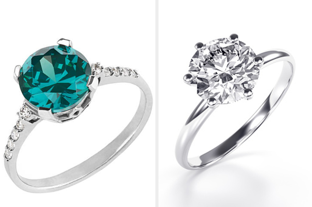 Here Are 12 Gorgeous Engagement Rings – Can You Identify Each Birthstone?