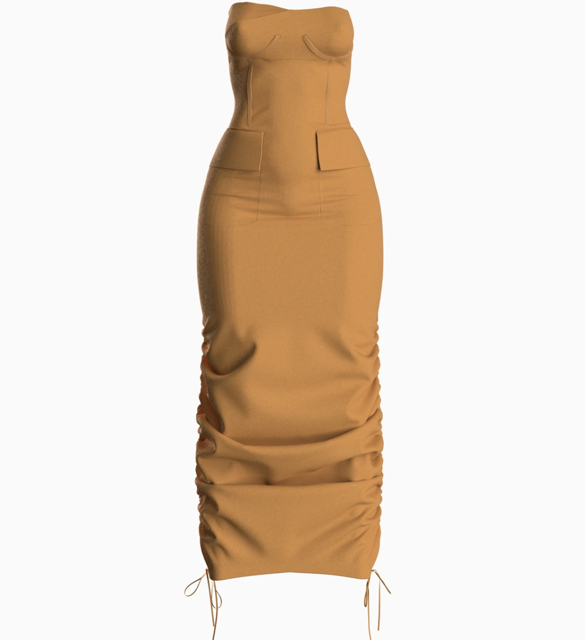 The dress in carmel