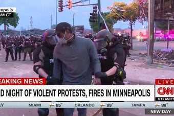 A Black CNN Reporter And His Crew Were Arrested Live On Air At The Minneapolis Protests