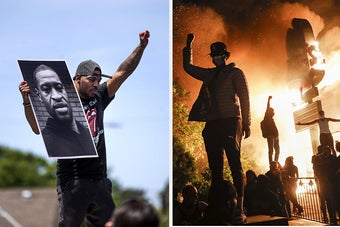 29 Powerful Scenes From The Protests Over George Floyd's Death