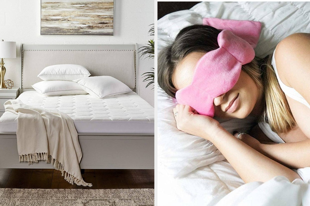 26 Products That'll Help You Go To Sleep So Much Faster