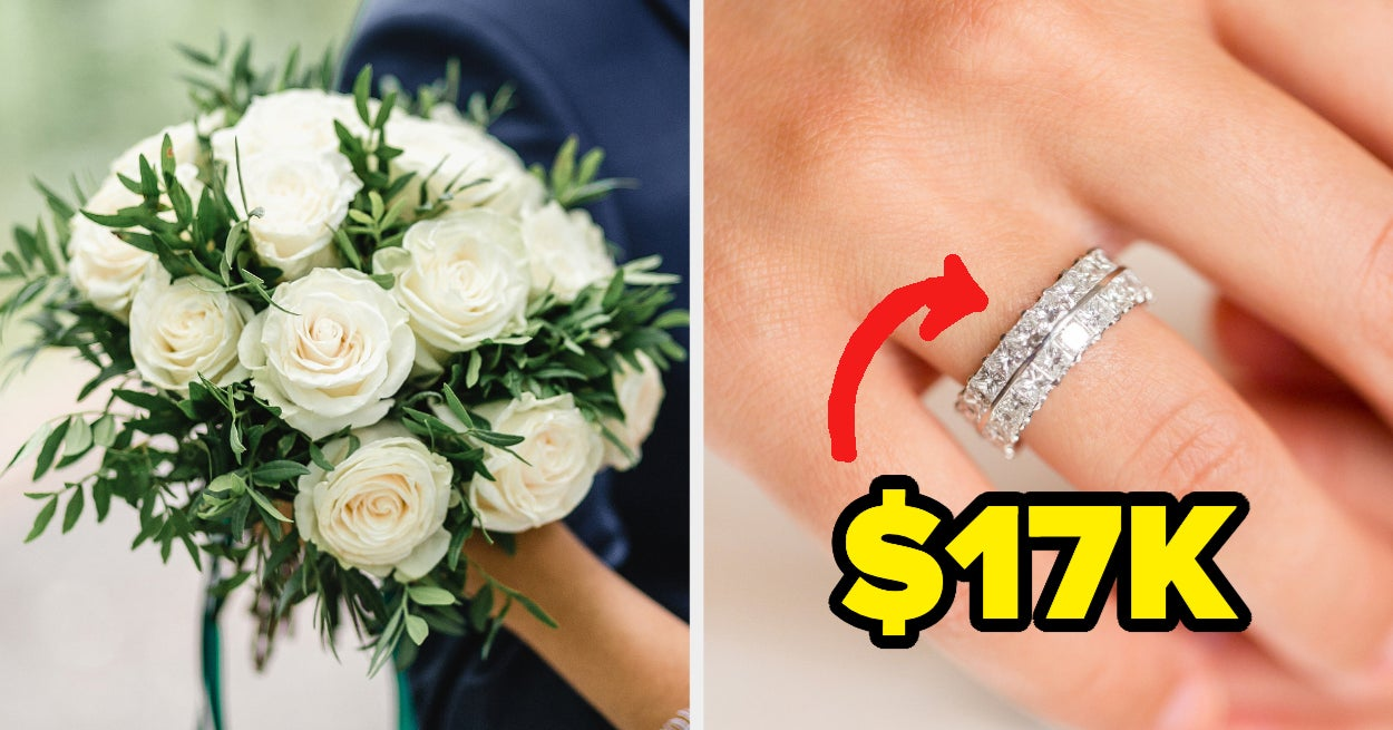 Plan Your Dream Wedding And We'll Reveal The Cost Of Your Future Wedding Ring