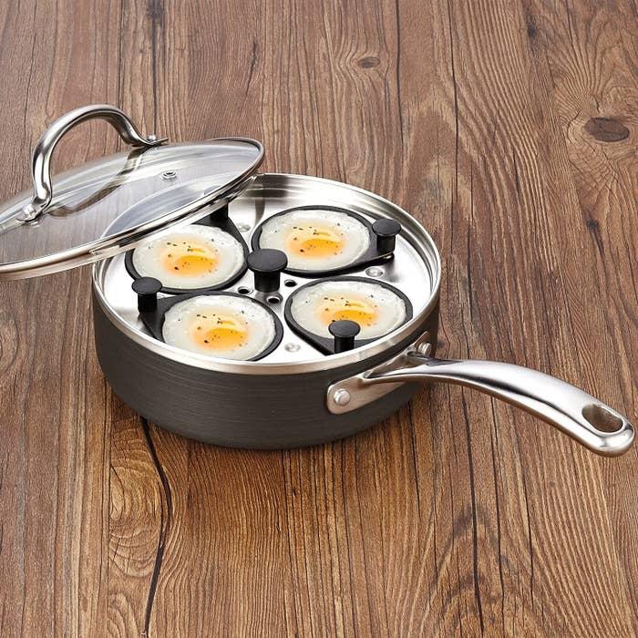 sartén para cocinar huevos
