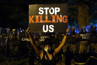 Violent Protests Against Police Brutality Are Once Again Sweeping The Country