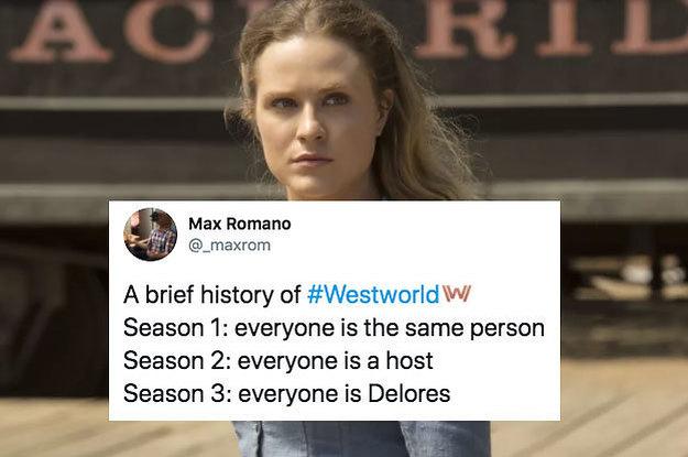 """28 Memes That Hilariously Sum Up """"Westworld"""" Season 3"""
