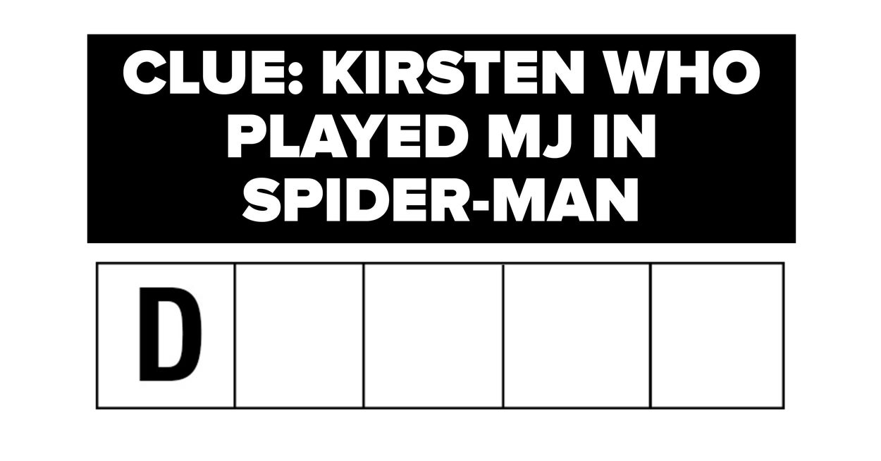 Quiz Can You Finish These Crossword Clues