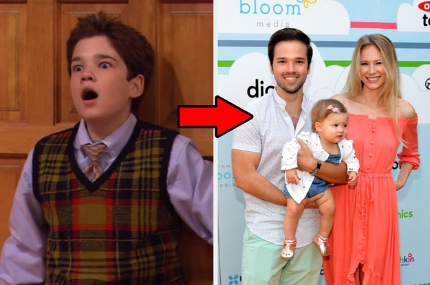27 Nickelodeon And Disney Channel Stars That Are Actually Parents Now