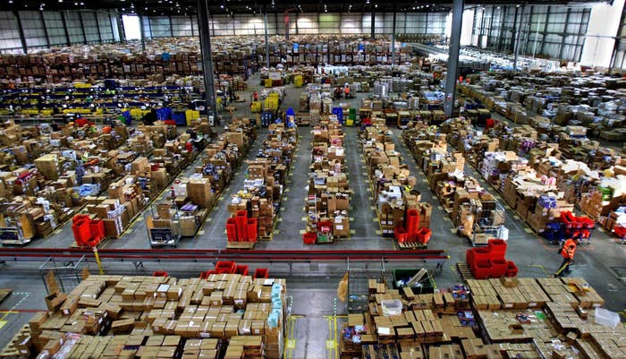 Working At The Amazon Warehouse Was Always Painful. Now It's Terrifying. 1