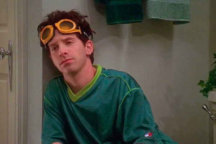 seth green with large goggles