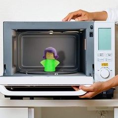 the green microwave cleaner