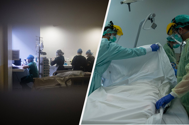 Here's How Intensive Care Staff Make Sure COVID-19 Patients Don't Die Alone