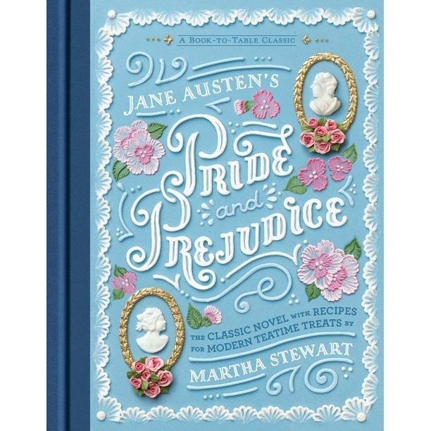 The blue cover of the book with white text and flower detail