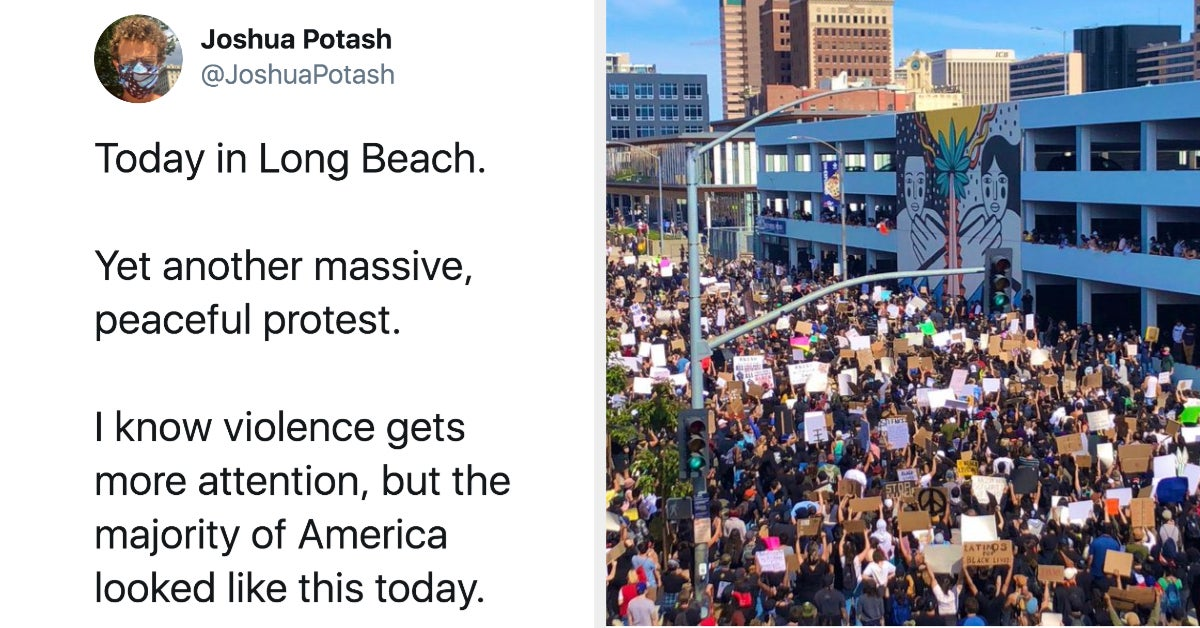 20 Pictures Of The Protests That You Definitely Didn't See All Over The News