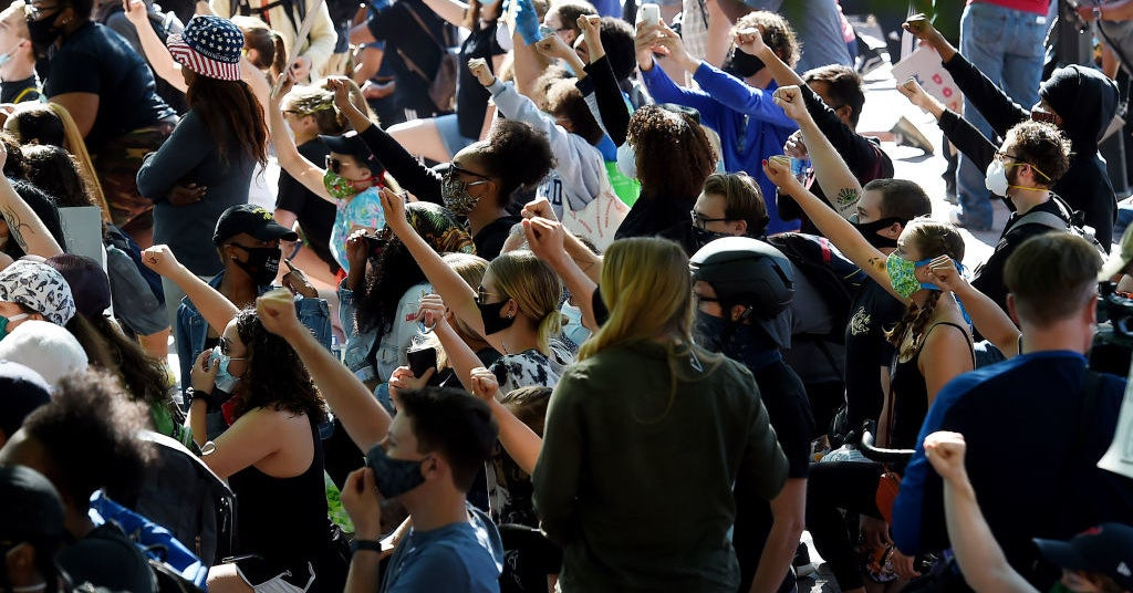 People Are Taking To The Streets To Protest Police Brutality Amid Trump's Threat To Unleash The Military