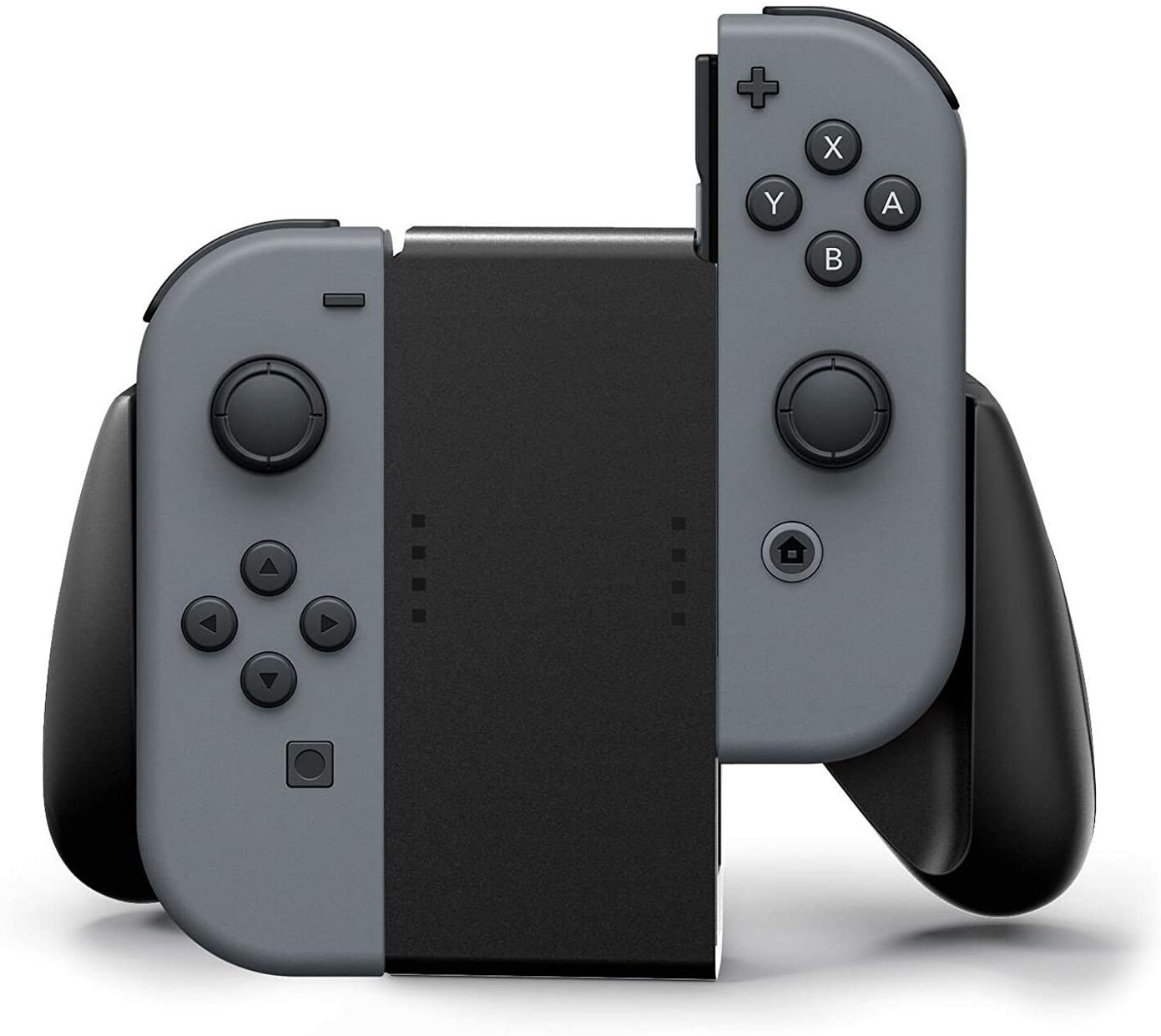 Two Switch controllers in the grip controller