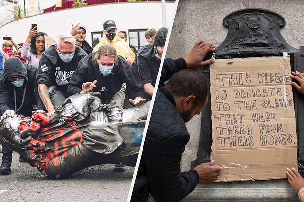 Statues In The US And Around The World Are Being Beheaded And Torn Down Amid Black Lives Matter Protests