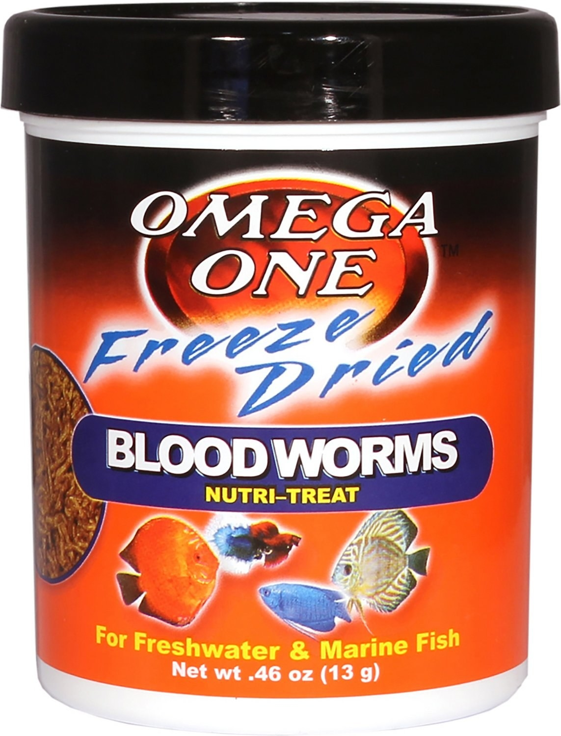 the tub of bloodworms