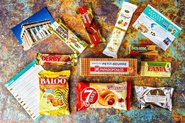 The Treats Greece box