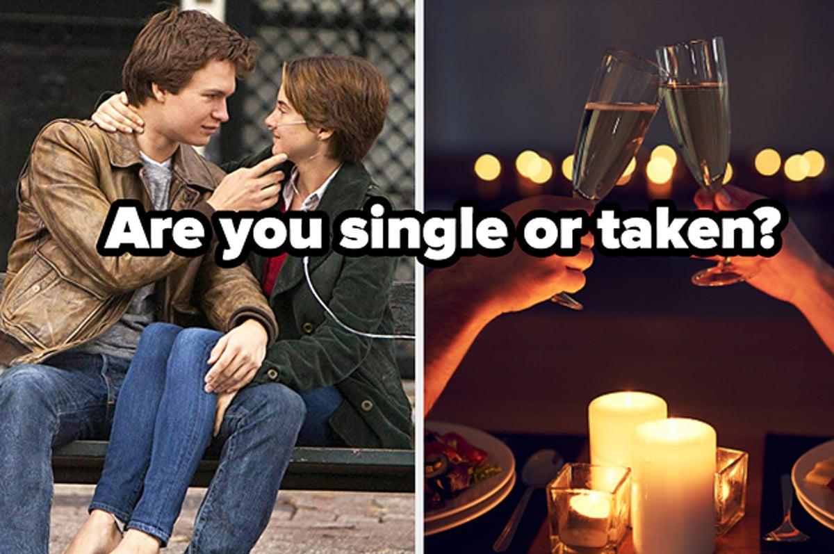 buzzfeed single or taken quiz