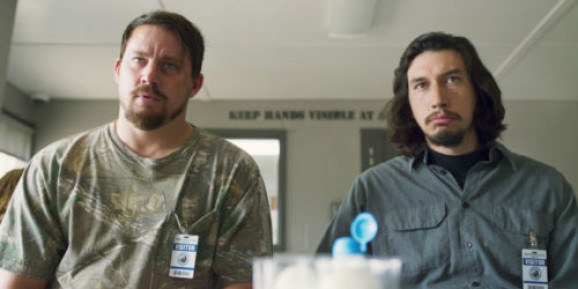 Jimmy (Channing Tatum) and Clyde (Adam Driver) reluctantly seek the help of a strange man in prison.