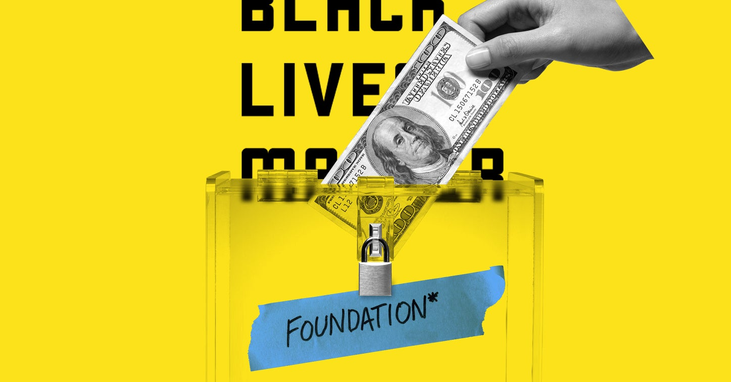 """The Black Lives Matter Foundation"" Raised Millions. It's Not Affiliated With The Black Lives Matter Movement."