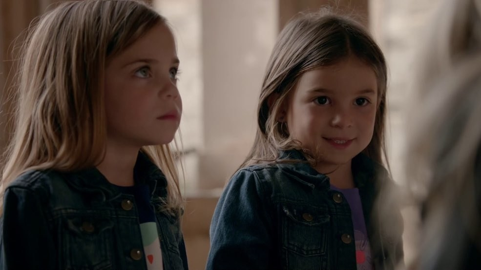 Caroline's twins at age 6