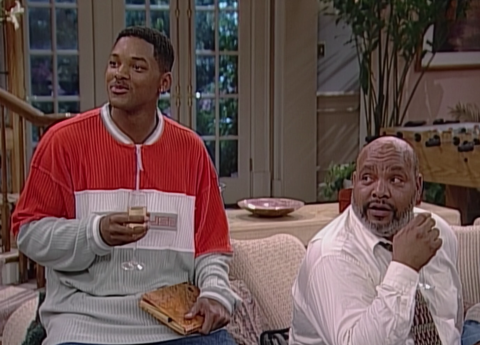 Screenshot of Will Smith and Philip Banks